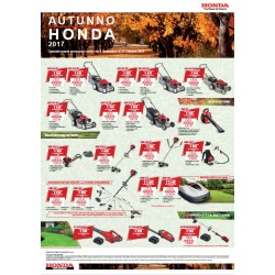 Volantino Honda Promozioni Autunno 2017