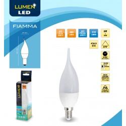 Lampada a Led Lumen Led Fiamma Lc 6W E14