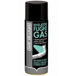 Saratoga Rivelatore Fughe Gas 400Ml