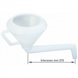 Imbuto curva rigida con filtro Art.02232