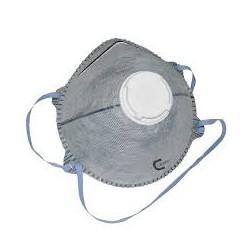 Mascherina facciale FFP2V carboni attivi con valvola