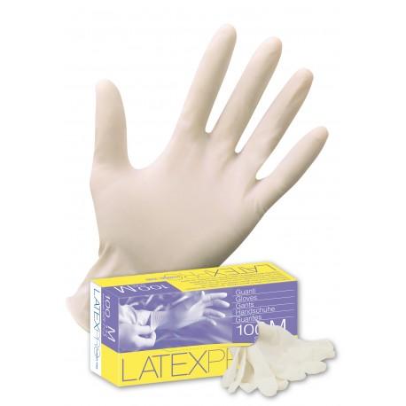 Guanto ICO in latice naturale senza polvere Latex Pro Powderfree