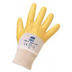 Guanto ICO in nitrile su supporto maglina di cotone Jersey