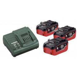 Batterie Metabo Set di Base 3 x LiHD 5,5 Ah+caricabatterie