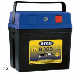Batterie Ranch B300 con alimentazione 9V