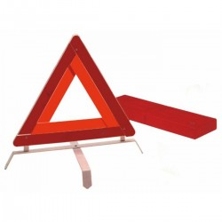 Triangolo veicolo fermo con astuccio