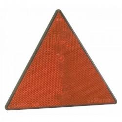 Catarifrangente triangolare rosso con viti