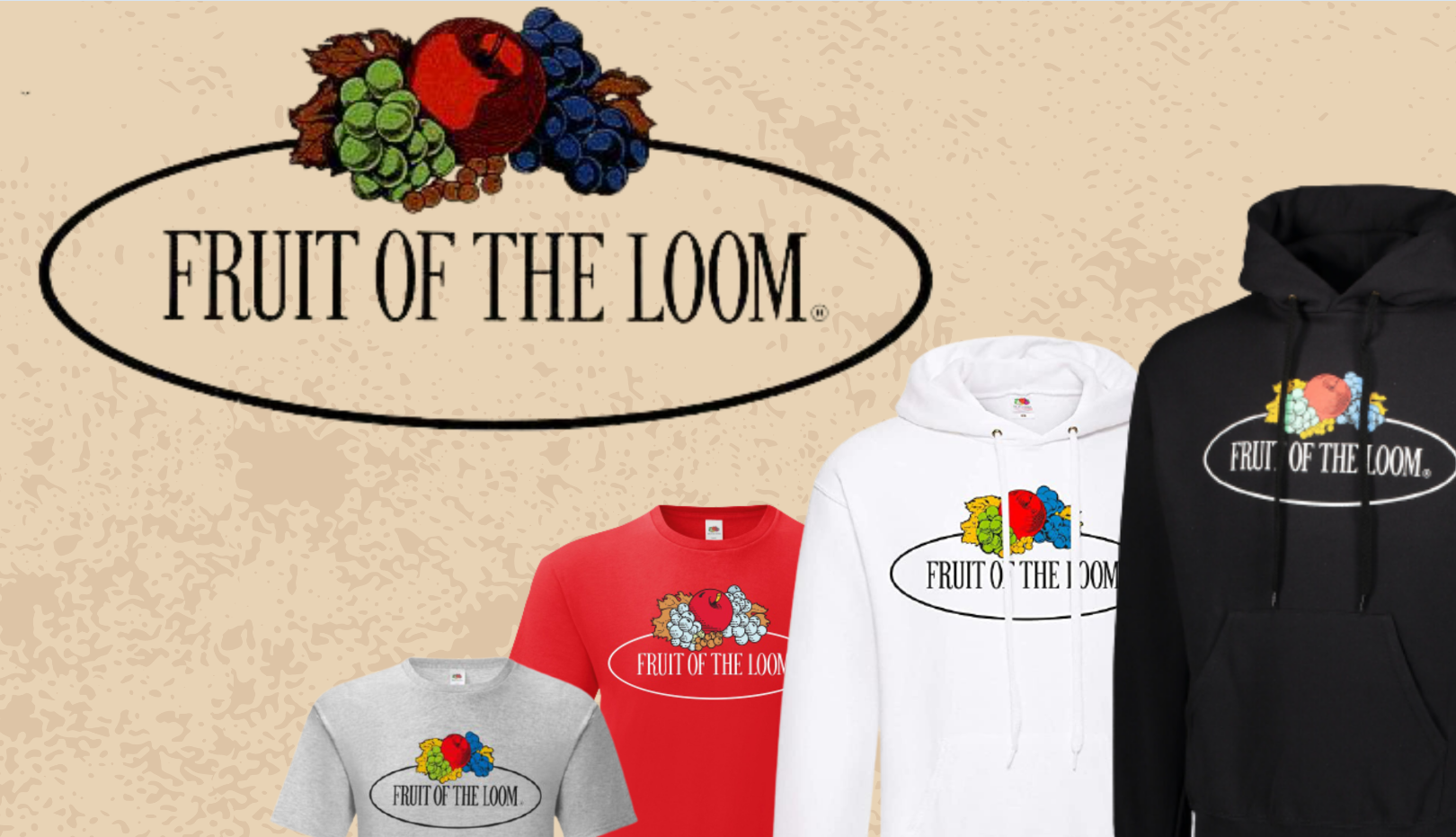 Nuova Collezione Fruit Of The Loom Vintage