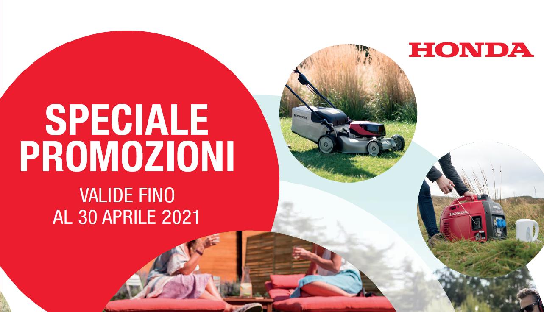 Volantino Primavera Honda 2021
